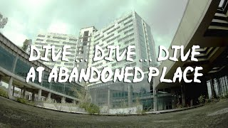 Dive Dive Dive at abandoned place | FPV Freestyle 4K Video