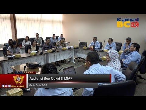 Audiensi Bea Cukai & Masyarakat Indonesia Anti Pemalsuan (MIAP)