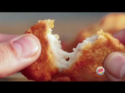 Burger King Spicy Chicken Nuggets Ad
