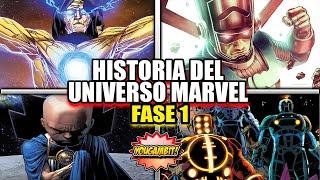 HISTORIA DEL UNIVERSO MARVEL Fase 1 De 6: EL ORIGEN DE TODO - YouGambit