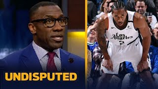 Shannon Sharpe reacts to Kawhi and Luka both dropping 36 points in Clippers win   NBA   UNDISPUTED