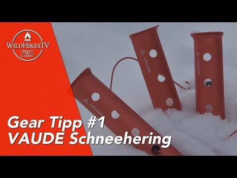 Gear Tipp #1 - VAUDE / Hilleberg / MSR Schneehering - Winterbiwak Ausrüstung - Wintercamping