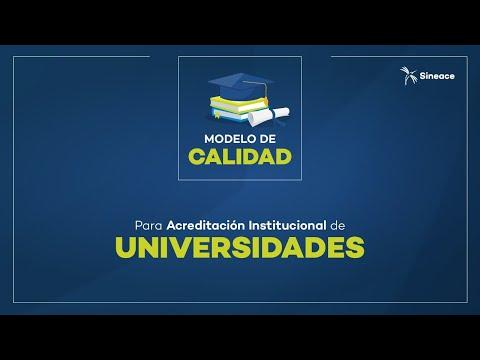 Sineace presenta proyecto del Modelo de Calidad para la acreditación institucional de universidades