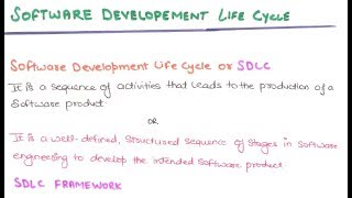 04- What Is Software Development Life Cycle   SDLC In Software Engineering Tutorials In Hindi