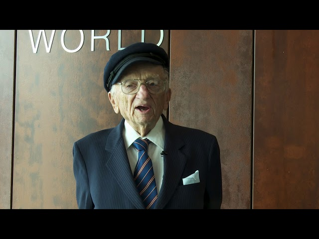 Video message on the occasion of the Rome Statute's 20th anniversary by Mr Benjamin Ferencz