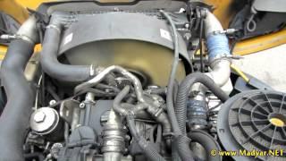 Detroit Diesel / Mercedes-Benz OM926LA Running Engine