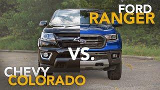 2019 Chevrolet Colorado vs. Ford Ranger Comparison