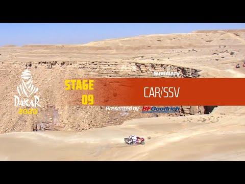 【ダカールラリーハイライト動画】ステージ9 自動車部門のハイライト