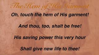 The Hem of His Garment (Sacred Songs & Solos #55)