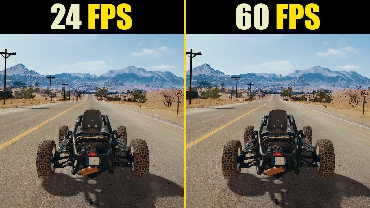 24 FPS vs. 60 FPS