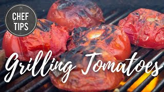 Grilling Tomatoes