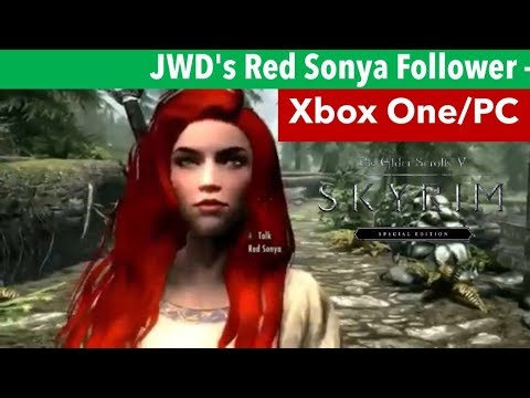 Skyrim SE Xbox One/PC Mods|JWD's Kagome - A Female Standalone