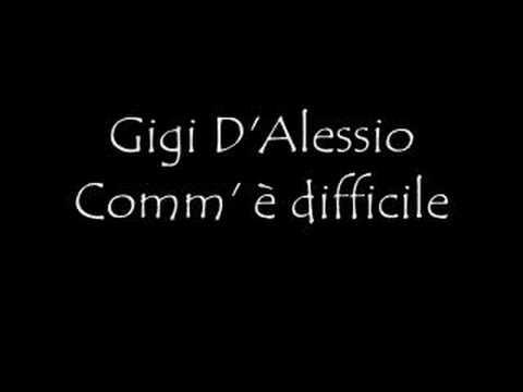 , title : 'Gigi D'Alessio Comm' è difficile'