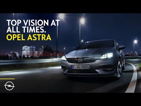 Opel Astra with IntelliLux LED Matrix Light