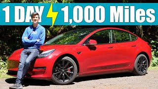 Can An Electric Car Travel 1,000 Miles In A Day?