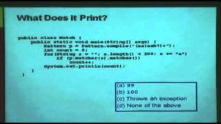 An Afternoon of Java Puzzles - Josh Bloch