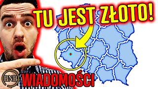 Polska LEŻY NA ZŁOCIE! Największe odkrycie STULECIA | WIADOMOŚCI