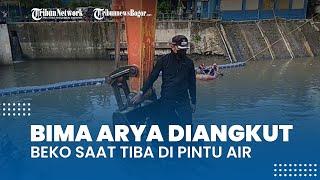 Dua Hari Ekspedisi Ciliwung Bogor-Jakarta, Bima Arya Diangkut Beko saat Tiba di Pintu Air Manggarai