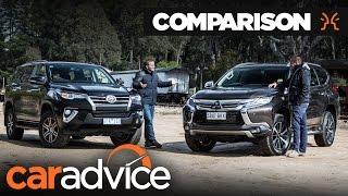 Comparison: Toyota Fortuner GXL v Mitsubishi Pajero Sport | CarAdvice