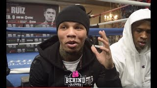 HAHA! GERVONTA TANK DAVIS TELLS FUNNY STORY ON HOW HE HAD TO LOSE WEIGHT FOR RUIZ CAMP!