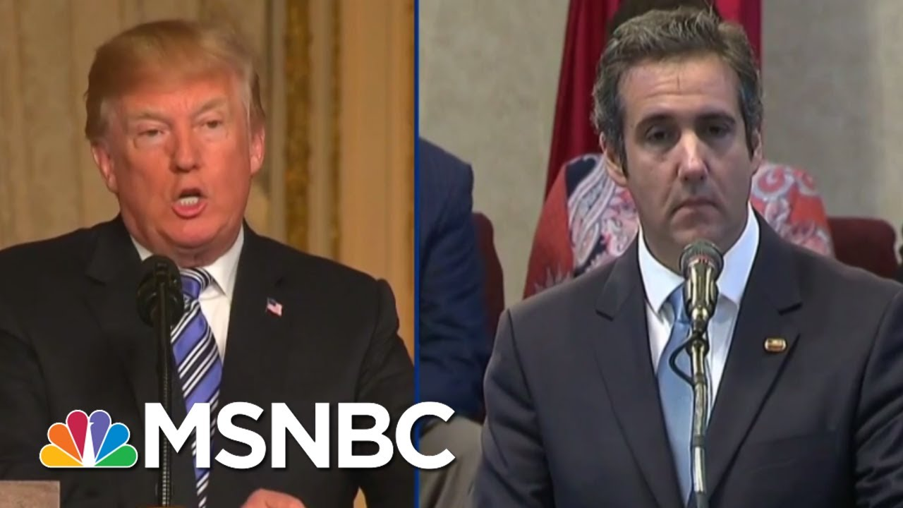 Listen To Tape Of Michael Cohen Making Threats For Donald Trump   The Beat With Ari Melber   MSNBC thumbnail