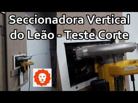 Seccionadora Vertical do Leão - Teste Corte / Vertical Lion Trimmer - Cut Test