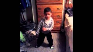 Little Boy Dance To Pretty Boy Swag