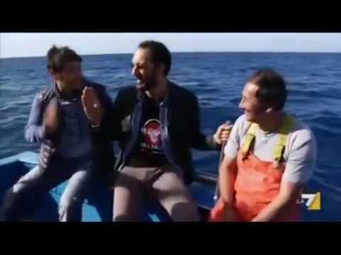 La pesca per una pertica di picca di video