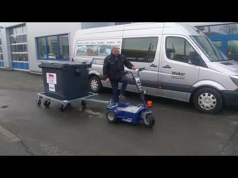 Universal Lösung für 1100 Liter Müllcontainer bzw. Mülltonnen