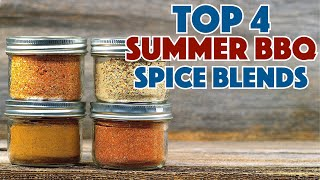 Top 4 Spice Blends For Summer BBQ & Grilling