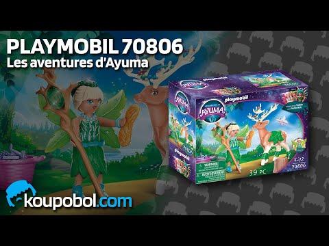 Vidéo PLAYMOBIL Ayuma 70806 : Forêt enchantée avec animal préféré