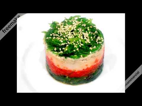 Салат  из водорослей Чука