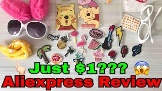 $1 AliExpress Haul - My First Time | Heli