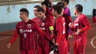 #ACL2018試合後のフッキとオスカル!#フロンターレvs#上海上港#オスカル#フッキ#Hulk