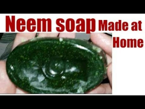 NEEM soap for acne,Pimples,Spotless, Skin whitning |How to Make Homemade face Soap