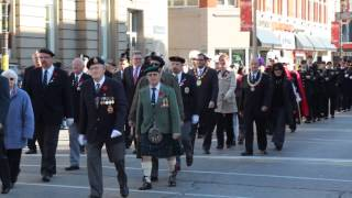 preview picture of video 'Brantford Remembrance Day 2014'