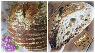 Foolproof Sourdough Bread Recipe