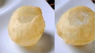 How to make Pani Puris or Golgappas or Puchka Recipe