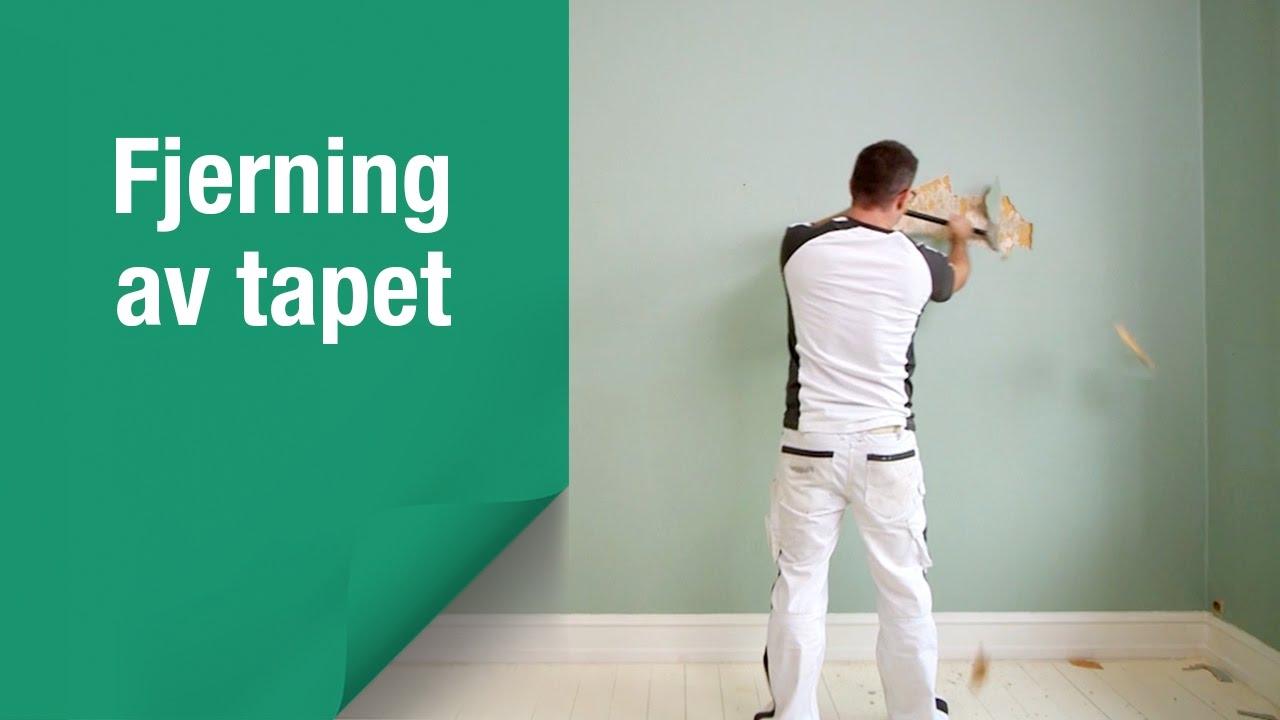 fjerne tapet Nedtaking av tapet: Slik fjerner du enkelt gammelt tapet fra veggen fjerne tapet