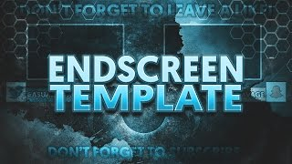 endscreen template photoshop endlessvideo