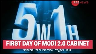 5W1H: First day of Modi 2.0 cabinet