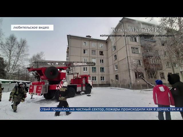 В праздники у ангарчан горели дачи и квартиры