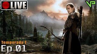 SKYRIM - Legolas Role Play! (PC - Mods - PTBR) Temporada 1 - Ep.01