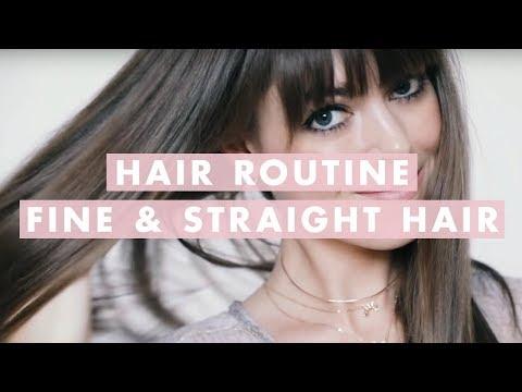 Hair Routine For Fine, Straight Hair | ft. Margo&Me | Luxy Hair