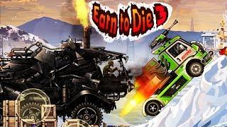 МАШИНЫ против ЗОМБИ #4  Earn to Die 3 ПРОХОЖДЕНИЕ  Игра про машинки для детей  Cars for kids games