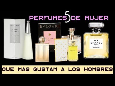 5 perfumes de mujer que más gustan a los hombres