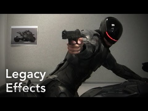 Video trailer för ROBOCOP: Making of the Suit - Legacy Effects