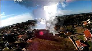 Drone Racer Freestyle FPV 2° Vôo e #Crash