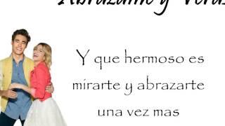 Violetta 3 - Abrázame y veras (Letra)