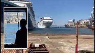 Carnival Fantasy Being Beached For Scrap, With Bridge Cam Footage!